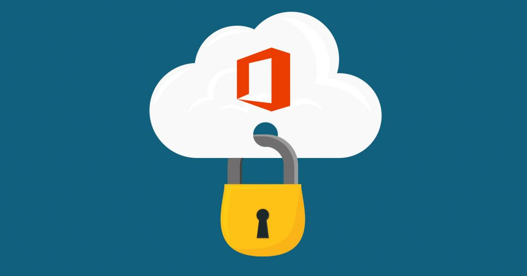 Office 365 Security Padlock image