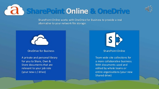 SharePoint Online and OneDrive